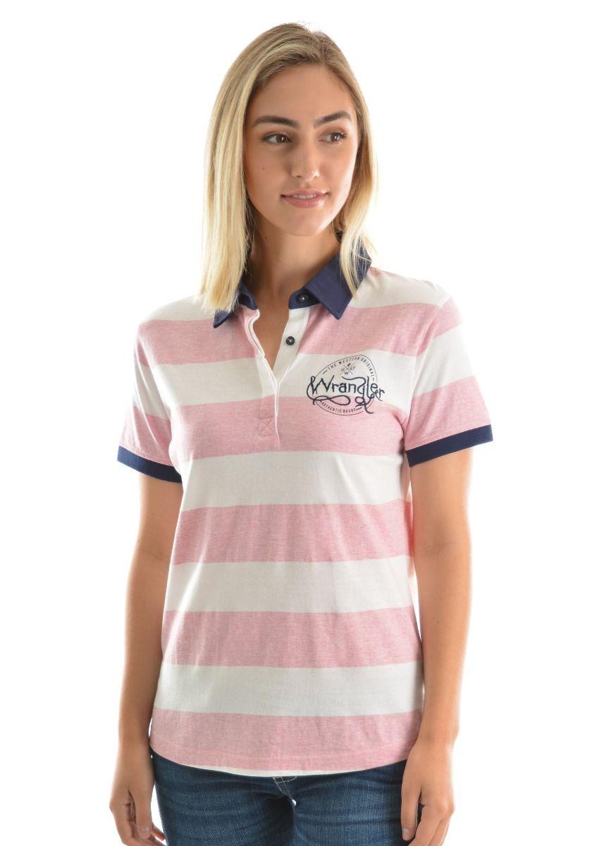 Wrangler Womens Polo Shirt